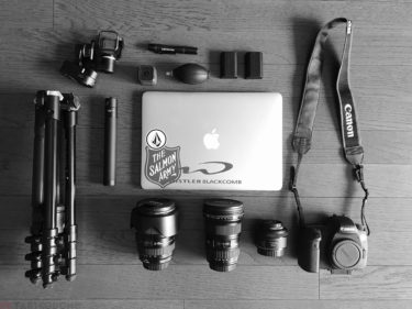 【世界一周準備】持ち物編①カメラ周辺機器、これを担ぎます