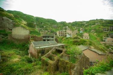 【中国・枸杞島】念願の島へ往復10時間。緑に覆われた廃村「后头湾(後頭湾)村」に行ってきた話